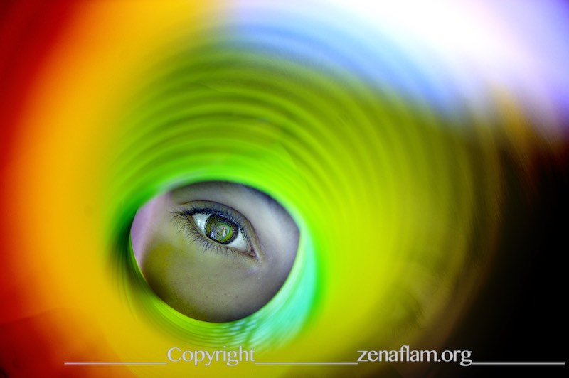 the rainbow eye